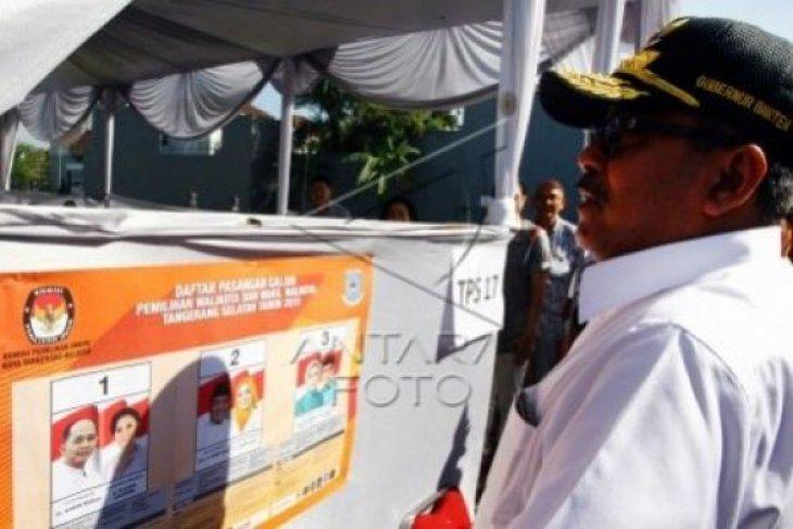 Tiga Calon Wakil Walikota Tangsel Tak Nyoblos