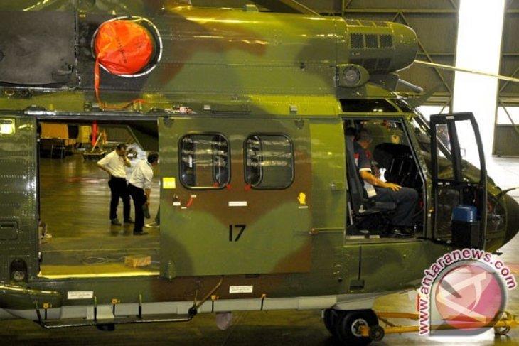 Heli TNI Jatuh di Kalasan