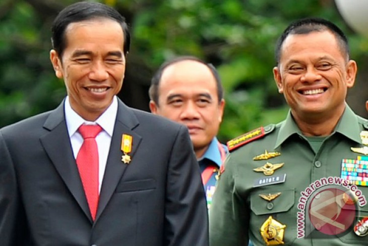 TNI Chief Gen. Gatot Nurmantyo not replaced: President Jokowi