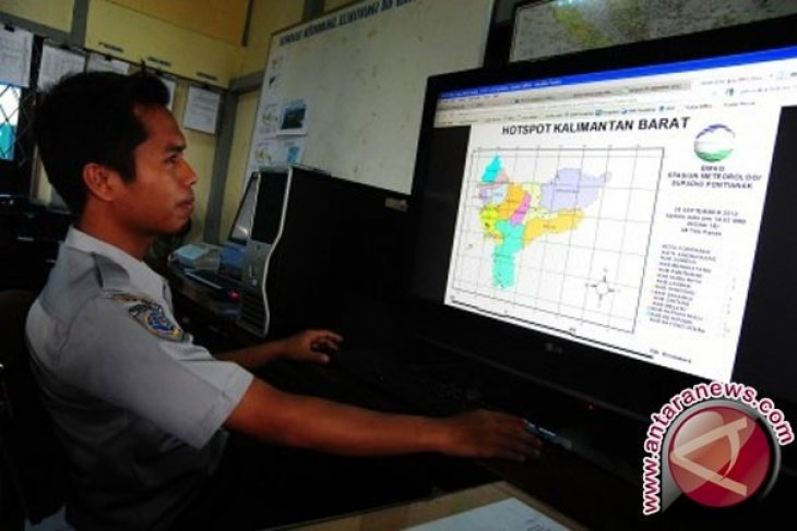 BMKG  Supadio Pontianak prakirakan hujan turun di sebagian Kalimantan Barat mulai 20 Juli