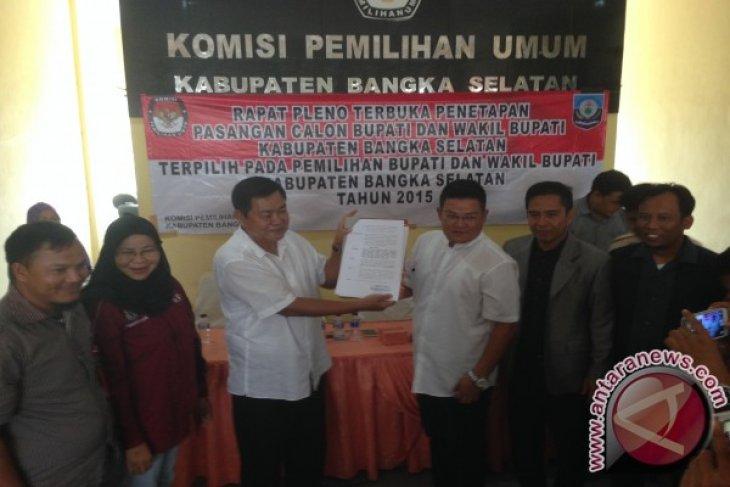 KPU Tetapkan Justiar Noer-Reza Herdavid Menangi Pilkada