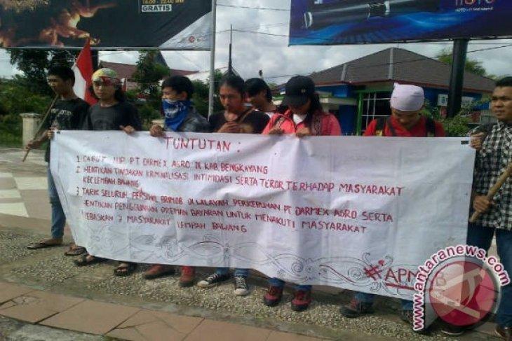 Mahasiswa Desak Perusahaan Hentikan Kriminalisasi Masyarakat Bengkayang