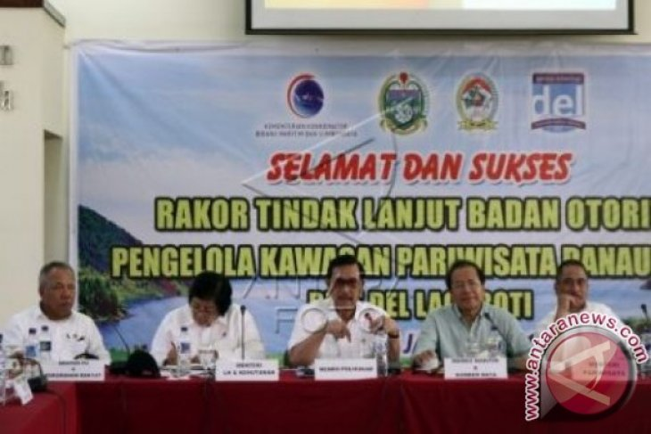 Lima menteri bahas pembentukan Badan Otoritas Danau Toba