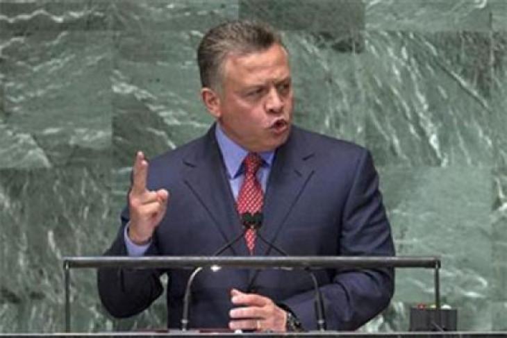 King Abdullah of Jordania says east Jerusalem must be capital of Palestinian state