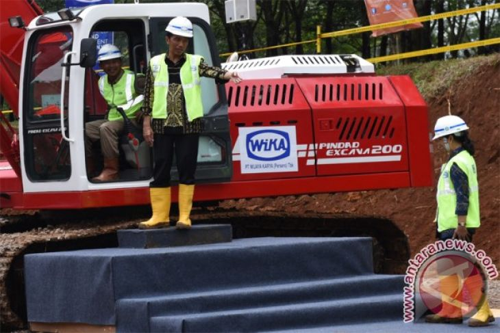 President Jokowi officiates groundbreaking of Jakarta-Bandung high-speed railway
