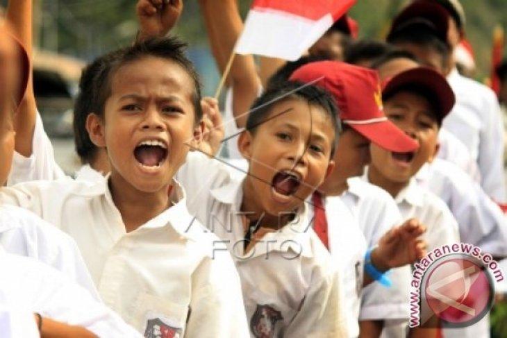 BPKP Gorontalo Jadi Sukarelawan Mengajar Anak Pelosok