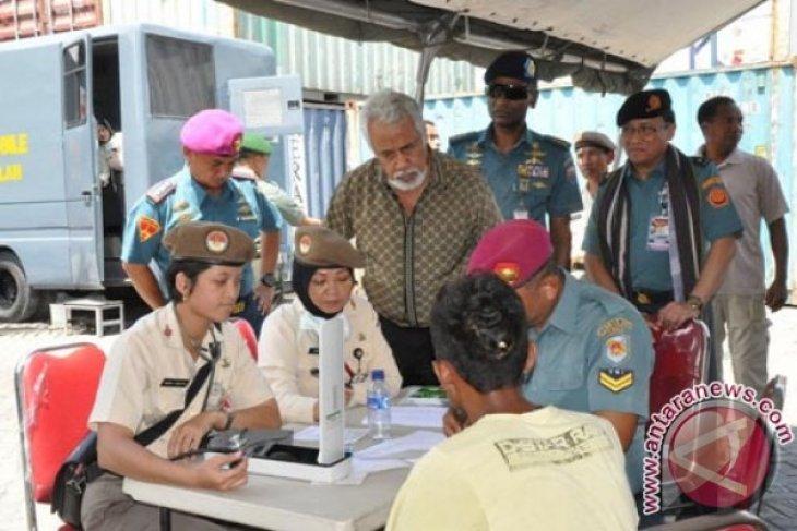 Xanana Gusmao Kunjungi Pasien di KRI dr Soeharso