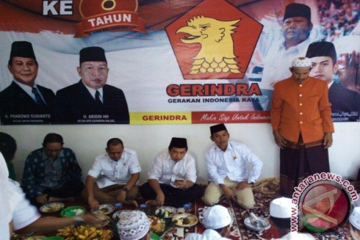 Gerindra yakin  kuasai enam kursi DPRD Banjarmasin