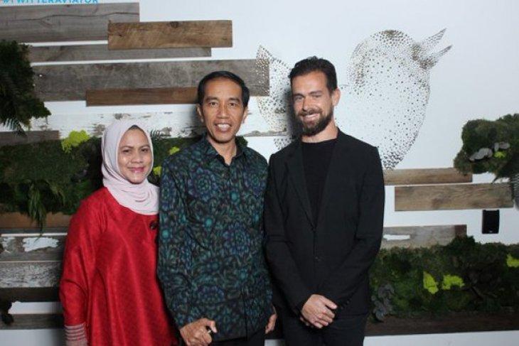 Jokowi urges Twitter to spread message of tolerance