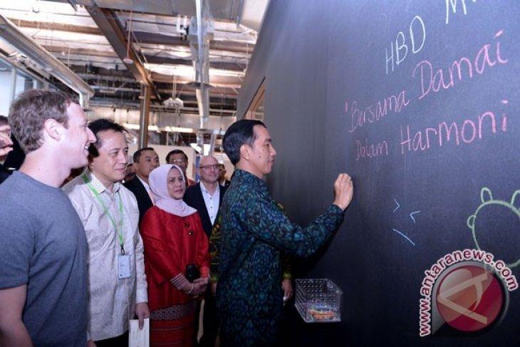 Perjalanan Setengah Hari Jokowi Menyusuri Silicon Valley