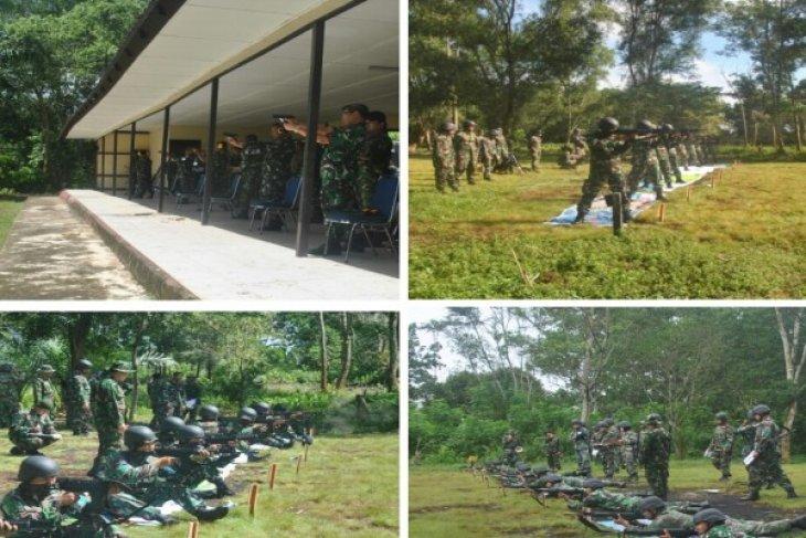 Latihan Menembak Tingkatkan Profesionalisme Prajurit Lantamal XII