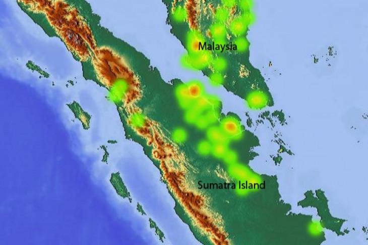Satellites detect 13 hotspots in Riau