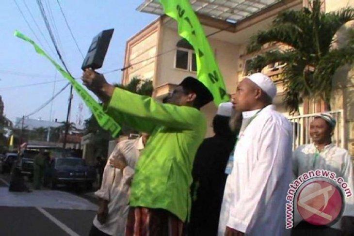 Warga Lebak Padati Masjid Gelar Sholat Gerhana