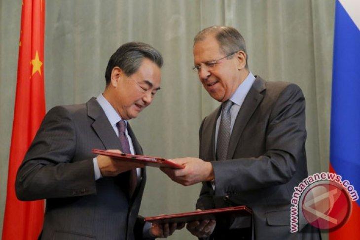 Menlu China-Rusia bertemu, singgung isu Myanmar