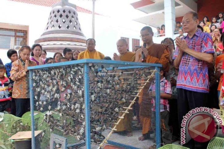 Umat Buddha Tulungagung Gelar Ritual