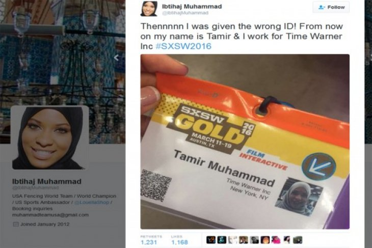 texas festival apologizes after muslim olympian told to remove hijab