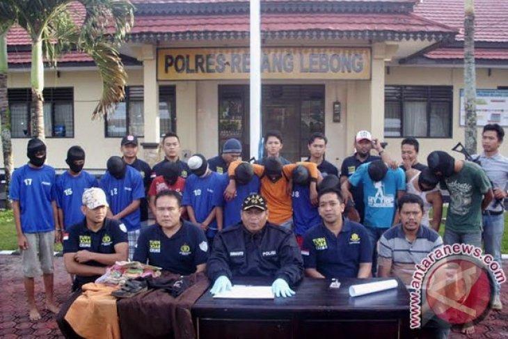 Polres Rejanglebong tangkap 12 pemerkosa pelajar