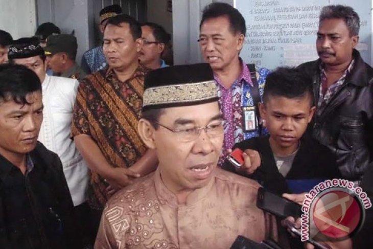 Bupati Rejanglebong pantau kasus penggelapan rastra