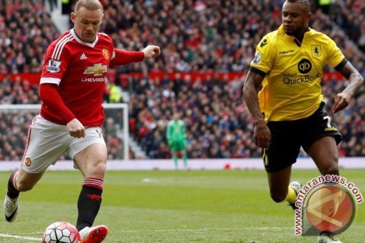 Aston Villa Terdegradasi Usai Ditekuk Manchester United 1-0