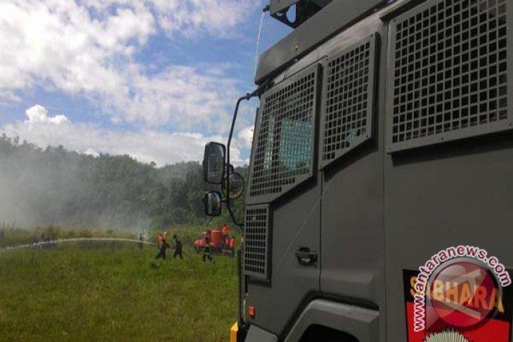 Polres Tanbu Antisipasi Kebakaran