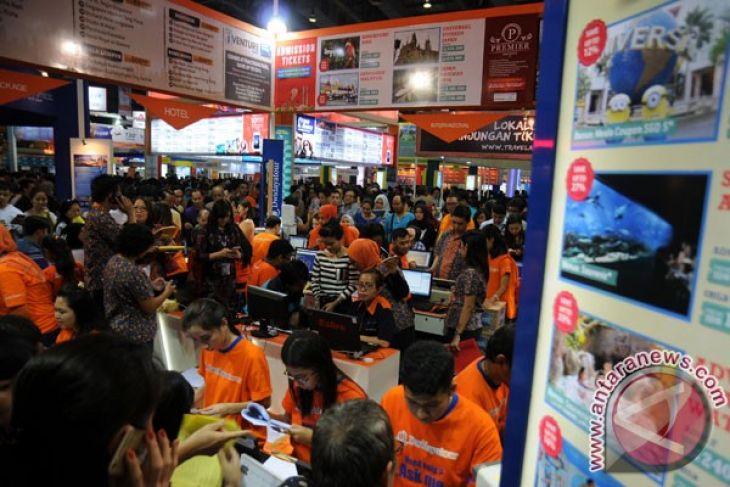 Garuda targeting Rp386 billion transactions during travel fair
