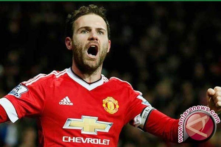 Juan Mata Antar Manchester United Atasi Norwich 1-0