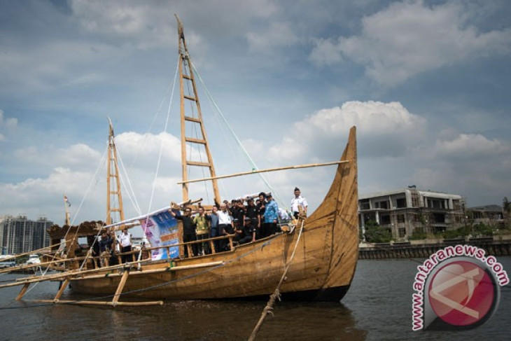 "Expedition ship ""Spirit of Majapahit"" arrives in Taiwan"