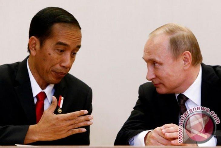 Presiden Vladimir Putin kirim pesan belasungkawa kepada Presiden Jokowi