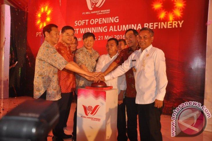 Smelter Alumina Terbesar di Indonesia Mulai Beroperasi
