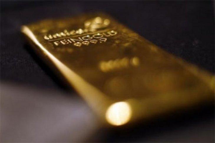 Harga emas melonjak 93 dolar di pasar berjangka