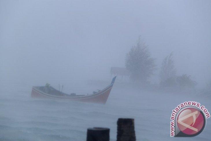 Ratusan nelayan di Kakap tidak melaut karena cuaca buruk