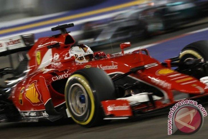 Susunan Start Formula 1 Grand Prix AS