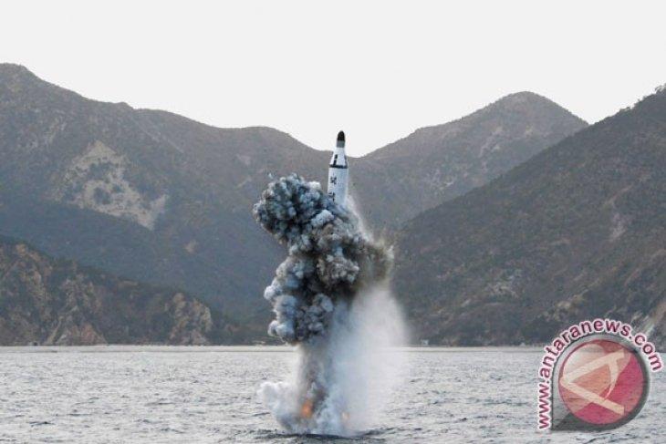 Citra satelit tunjukkan Korut siap luncurkan rudal balistik kapal selam