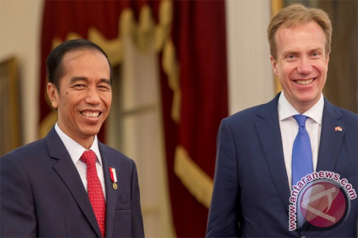 President Jokowi receives visiting Norwegian FM