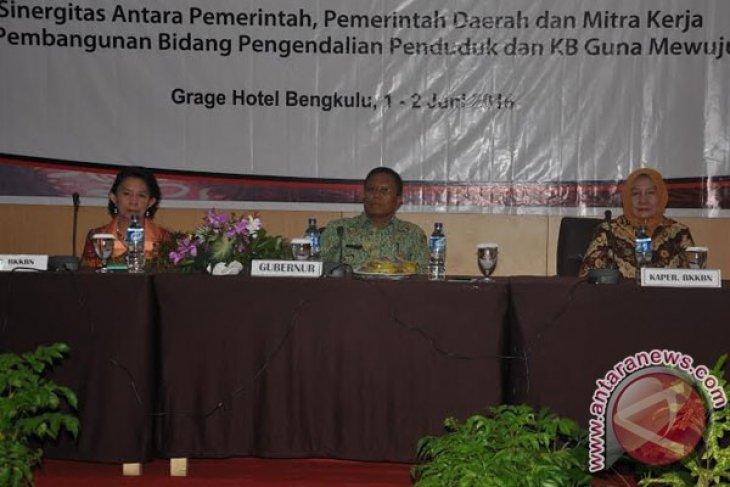 Gubernur Bengkulu : Pembangunan penduduk jangan dilakukan secara berseliwiran
