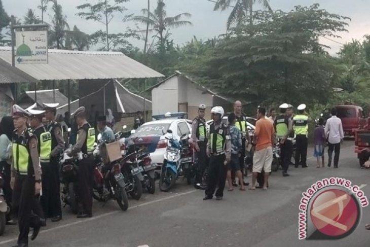 Polres Sukabumi Kota Sita Puluhan Sepeda Motor