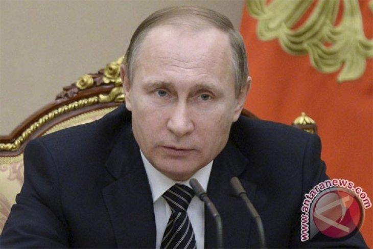 Putin Mengucapkan Selamat Ke Tim Rusia Usai Kalahkan Spanyol