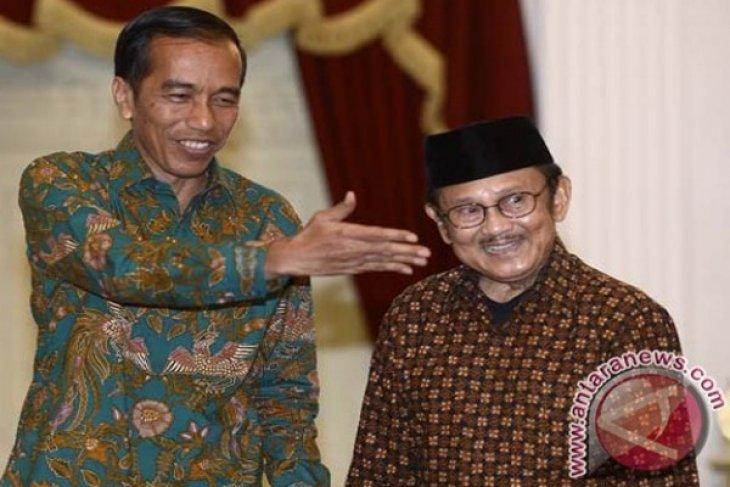 President Jokowi attends Habibie`s 80th birthday celebration