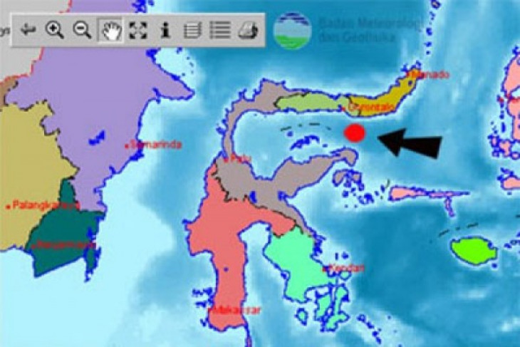 Magnitude 7.7 quake prompts Gorontalo residents to stay outdoors