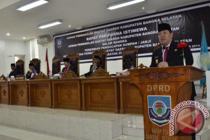 DPRD Bangka Selatan Minta Jabatan Sekda Dilelang