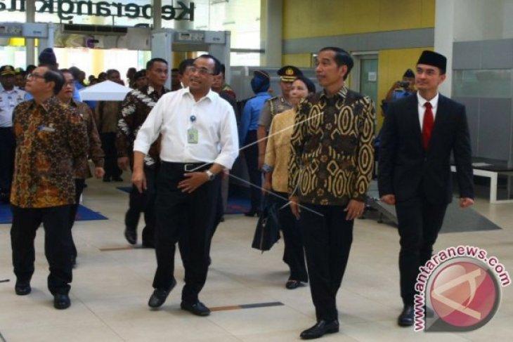 Presiden minta bandara diintegrasikan dengan transportasi lain