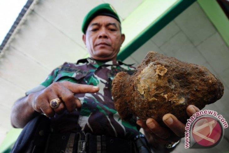 Penemuan Mortir di Depan KPU Pontianak