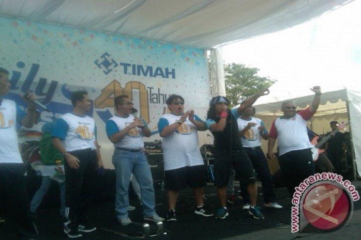 Ribuan Warga Pangkalpinang Meriahkan Jalan Sehat Timah