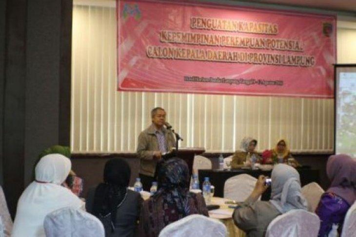 Penguatan Kapasitas Perempuan Potensial Calon Kepala Daerah Di Lampung