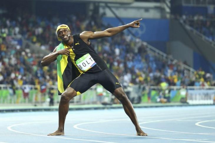 Usain Bolt pede rekornya tak akan patah di Olimpiade Tokyo