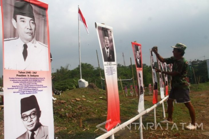 Poster Presiden HUT Kemerdekaan
