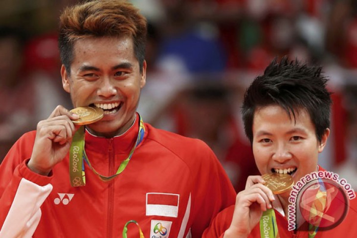 Olympic gold medal is gift on Indonesian Independence Day