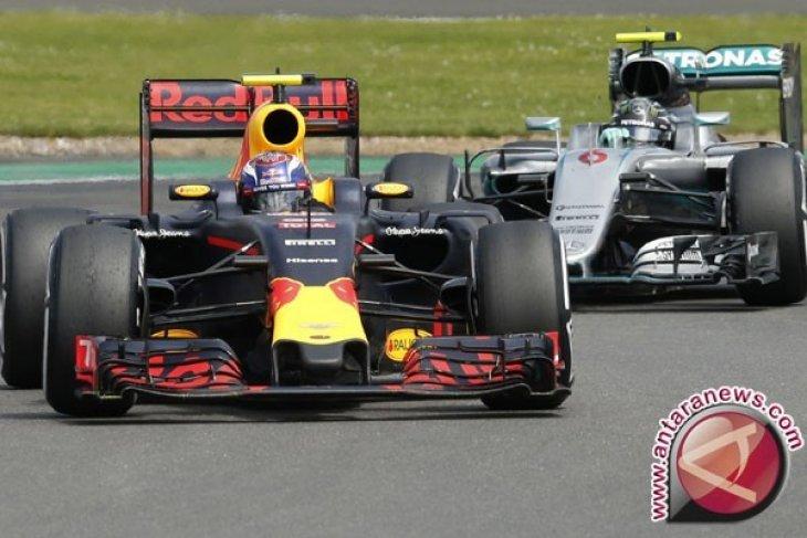 Max Verstappen tercepat dalam sesi latihan di GP Jerman