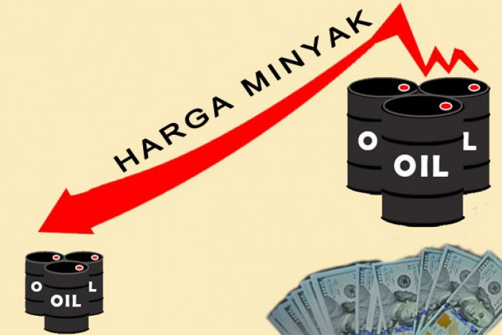 Harga minyak jatuh karena ketegangan perdagangan China-AS