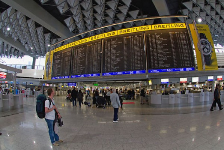 Frankfurt Airport terminal areas cleared after security breach